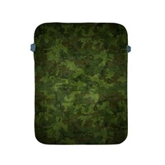 Military Background Spots Texture  Apple Ipad 2/3/4 Protective Soft Cases