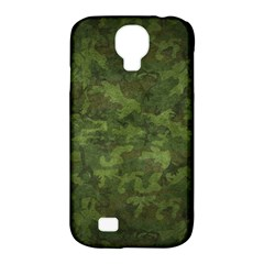 Military Background Spots Texture  Samsung Galaxy S4 Classic Hardshell Case (pc+silicone)
