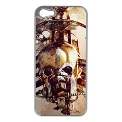Mad Max Mad Max Fury Road Skull Mask  Apple Iphone 5 Case (silver)