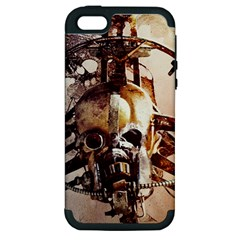 Mad Max Mad Max Fury Road Skull Mask  Apple Iphone 5 Hardshell Case (pc+silicone)