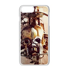 Mad Max Mad Max Fury Road Skull Mask  Apple Iphone 7 Plus White Seamless Case