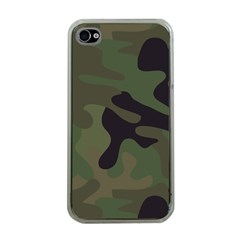 Military Spots Texture Background  Apple Iphone 4 Case (clear)