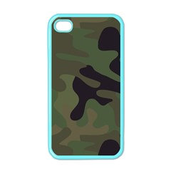 Military Spots Texture Background  Apple Iphone 4 Case (color)