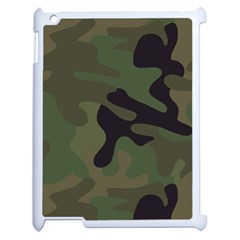 Military Spots Texture Background  Apple Ipad 2 Case (white)