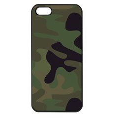 Military Spots Texture Background  Apple Iphone 5 Seamless Case (black)