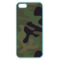 Military Spots Texture Background  Apple Seamless Iphone 5 Case (color)