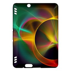 Light Color Line Smoke Kindle Fire Hdx Hardshell Case
