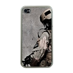 Cool Military Military Soldiers Punisher Sniper Apple Iphone 4 Case (clear)