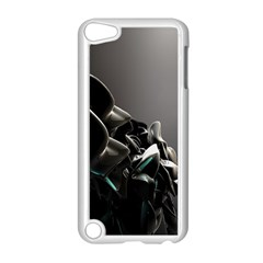Black White Figure Form  Apple Ipod Touch 5 Case (white)