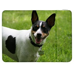 Full 2 Rat Terrier Samsung Galaxy Tab 7  P1000 Flip Case