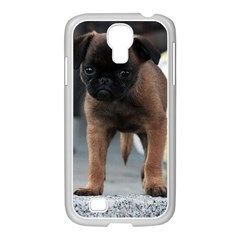 Brussels Griffon Front View Samsung Galaxy S4 I9500/ I9505 Case (white)