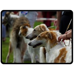 Borzoi Group Double Sided Fleece Blanket (large)