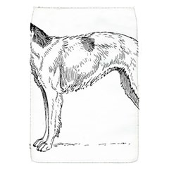 Borzoi Drawing Flap Covers (s)