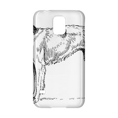 Borzoi Drawing Samsung Galaxy S5 Hardshell Case