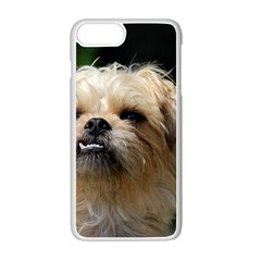 Brussels Griffon Apple Iphone 7 Plus White Seamless Case