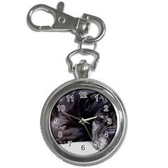 Neapolitan Mastiff Laying Key Chain Watches