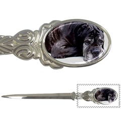 Neapolitan Mastiff Laying Letter Openers