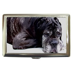 Neapolitan Mastiff Laying Cigarette Money Cases