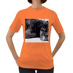 Neapolitan Mastiff Laying Women s Dark T Shirt