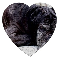 Neapolitan Mastiff Laying Jigsaw Puzzle (heart)