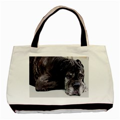 Neapolitan Mastiff Laying Basic Tote Bag