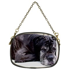 Neapolitan Mastiff Laying Chain Purses (one Side)