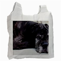Neapolitan Mastiff Laying Recycle Bag (one Side)