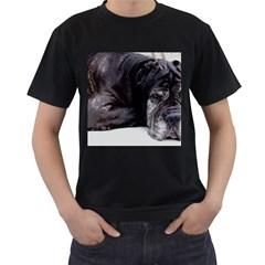 Neapolitan Mastiff Laying Men s T Shirt (black)
