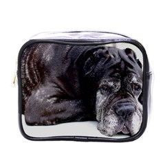 Neapolitan Mastiff Laying Mini Toiletries Bags