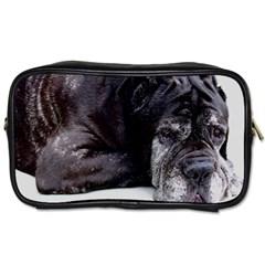 Neapolitan Mastiff Laying Toiletries Bags