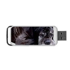 Neapolitan Mastiff Laying Portable Usb Flash (two Sides)