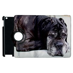 Neapolitan Mastiff Laying Apple Ipad 3/4 Flip 360 Case