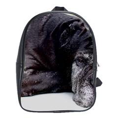 Neapolitan Mastiff Laying School Bag (xl)