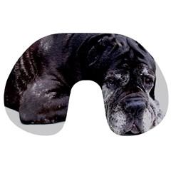 Neapolitan Mastiff Laying Travel Neck Pillows