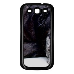 Neapolitan Mastiff Laying Samsung Galaxy S3 Back Case (black)