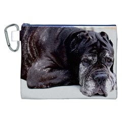 Neapolitan Mastiff Laying Canvas Cosmetic Bag (xxl)