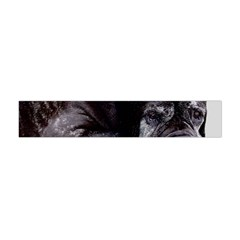 Neapolitan Mastiff Laying Flano Scarf (mini)