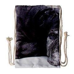 Neapolitan Mastiff Laying Drawstring Bag (large)
