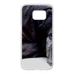 Neapolitan Mastiff Laying Samsung Galaxy S7 Edge White Seamless Case