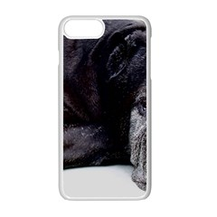 Neapolitan Mastiff Laying Apple Iphone 7 Plus White Seamless Case