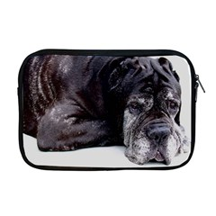Neapolitan Mastiff Laying Apple Macbook Pro 17  Zipper Case
