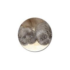 Neapolitan Pups Golf Ball Marker (4 Pack)