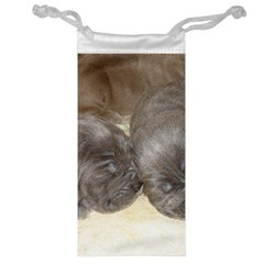 Neapolitan Pups Jewelry Bag