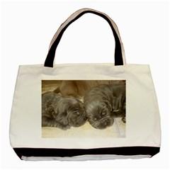 Neapolitan Pups Basic Tote Bag