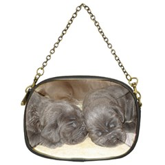 Neapolitan Pups Chain Purses (two Sides)