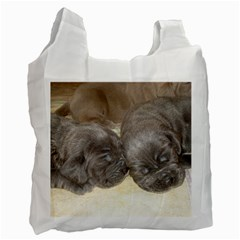 Neapolitan Pups Recycle Bag (one Side)