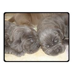 Neapolitan Pups Fleece Blanket (small)