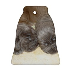 Neapolitan Pups Ornament (bell)