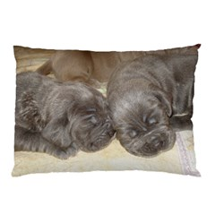 Neapolitan Pups Pillow Case (two Sides)