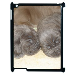 Neapolitan Pups Apple Ipad 2 Case (black)